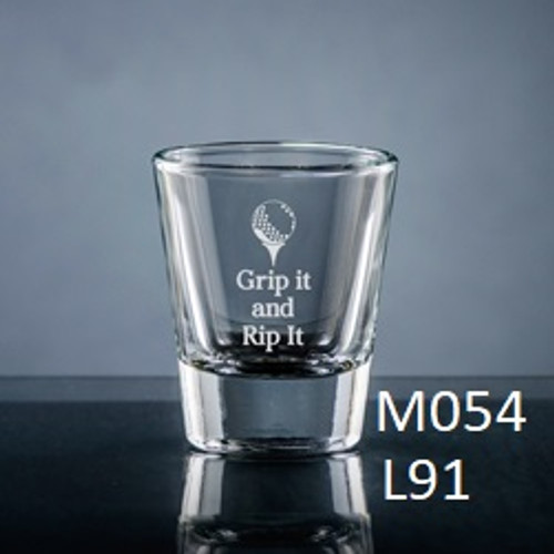 Athlete Shot Glass - 7 icons