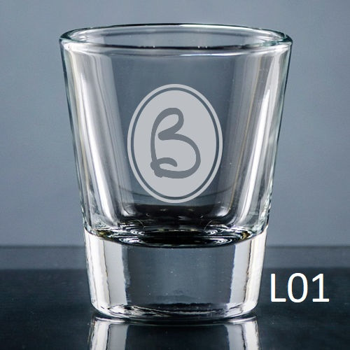 Soltero Shot Glass - 8 fonts