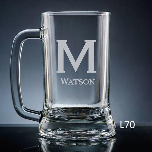 Fortaleza Beer Mug - 10 Fonts