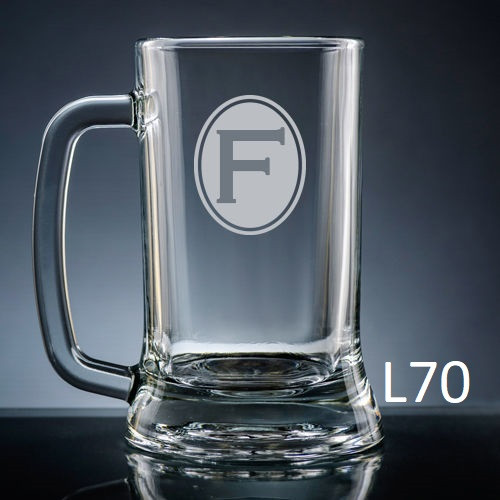 Soltero Beer Mug Glass - 8 fonts