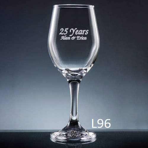Palacio  Wine Glass - 7 fonts