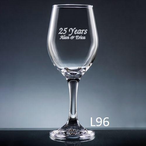 Palacio  Wine Glass - 7 fonts
