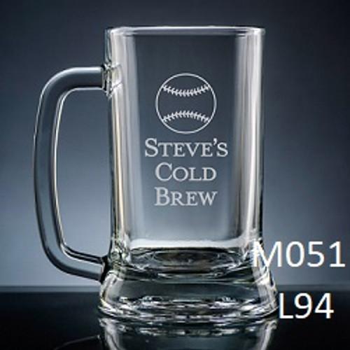 Athlete Beer Mug Glass - 7 icons