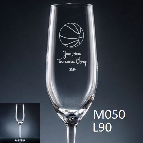 Athlete Champagne Flute - 7 icons