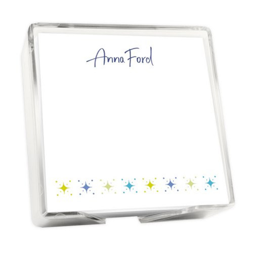 Starry Night Memo Square