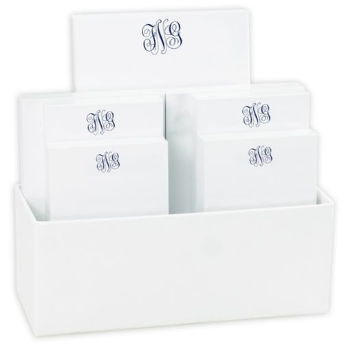 Delavan Monogram 7 Tablet Set