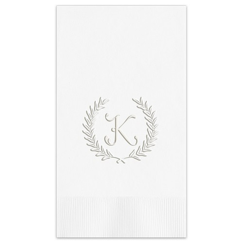 Harvest Guest Towel Embossed