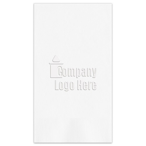 Embossed Guest Towel - Your Art or Logo