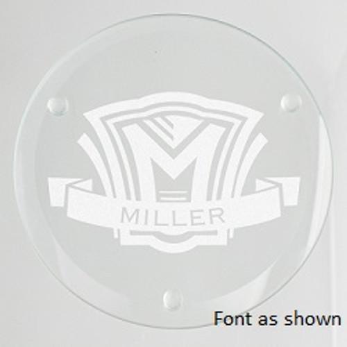 Shield Glass Coaster Set