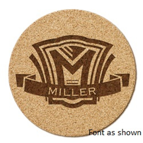 Shield Cork Coaster Set