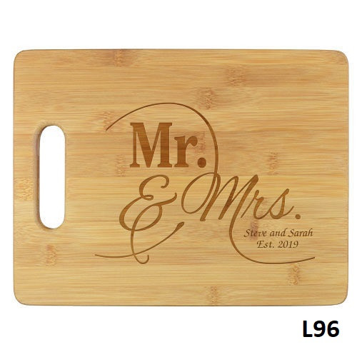 Modern Love Cutting Board - 5 Fonts