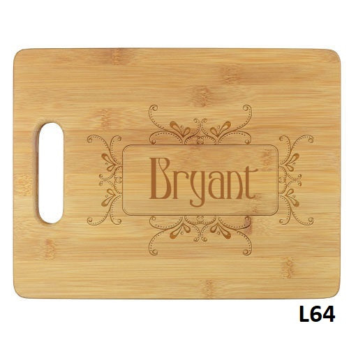 Radiance Cutting Board - 6 Fonts