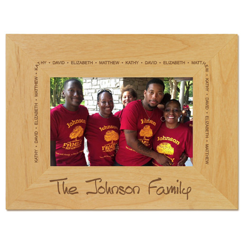 Family Arch Picture Frame