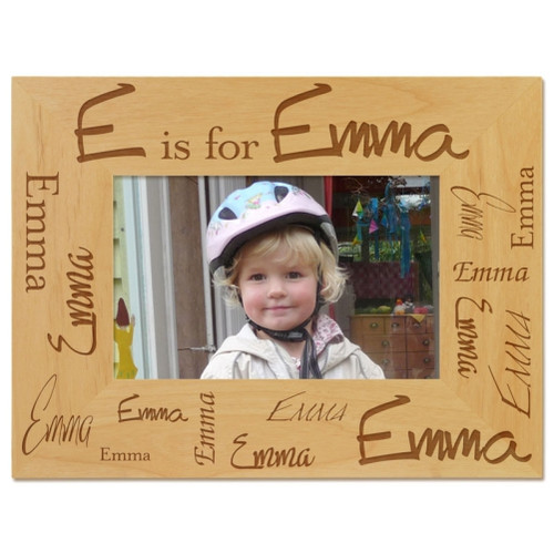 Confetti Name Picture Frame