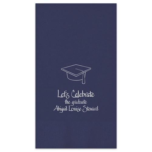 Graduation Guest Towel