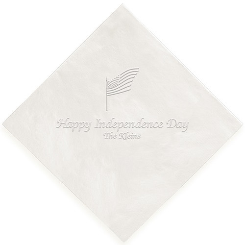 Embossed Summer Fun Napkin