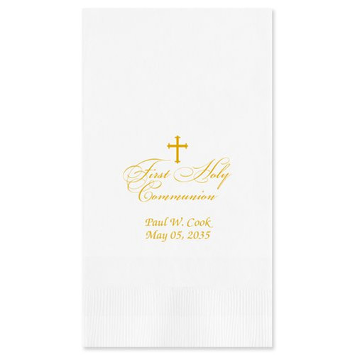 First Communion  Guest Towel