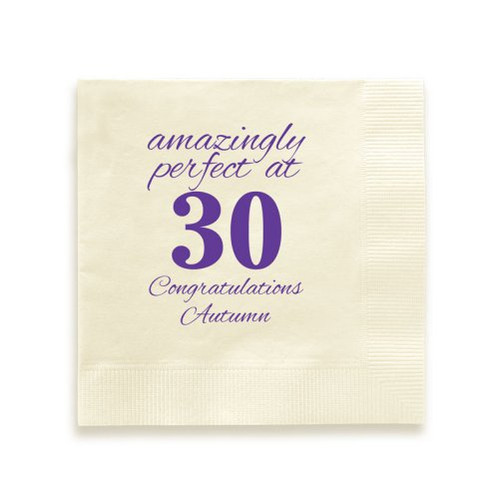 Birth Age Napkin