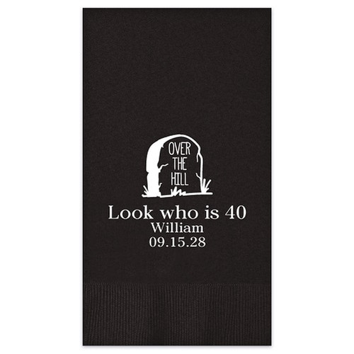 Over The Hill Guest Towel