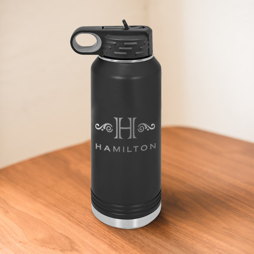 Hamilton 32 Ounce Water Bottle - multiple colors