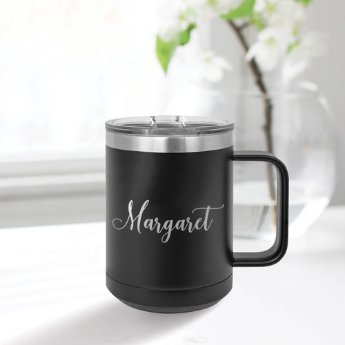 Cursive Name 15 Ounce Tumbler