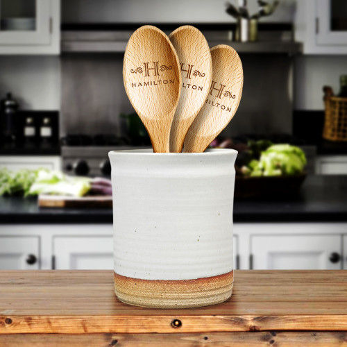 Hamilton Personalized Bamboo Spoon