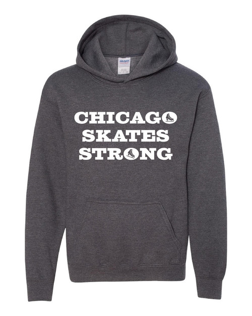 Chicago Skates Strong Hooded Sweatshirt
