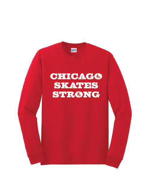 Chicago Skates Strong Long Sleeve Shirt