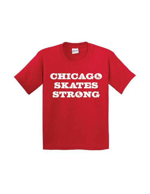 Chicago Skates Strong T-Shirt