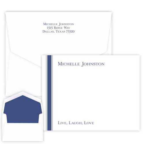 Stately Stripe Card