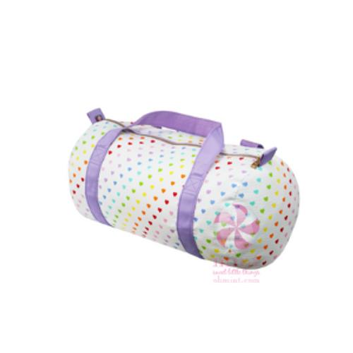 Tiny Hearts Duffel Bag