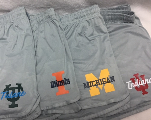 Collegiate Pajama Shorts - Available for any school