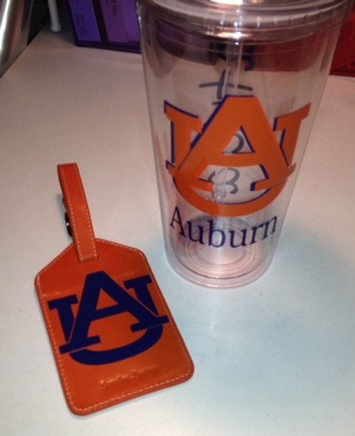 Collegiate Tumbler and Bag Tag Set - Assorted Styles