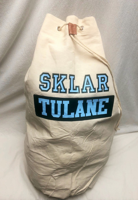 Collegiate Laundry Bag - Custom Made for Any School