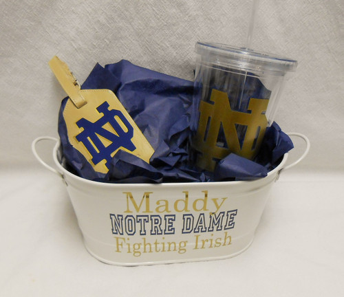 Gift Set: Collegiate Tumbler and Bag Tag Set - Assorted Styles