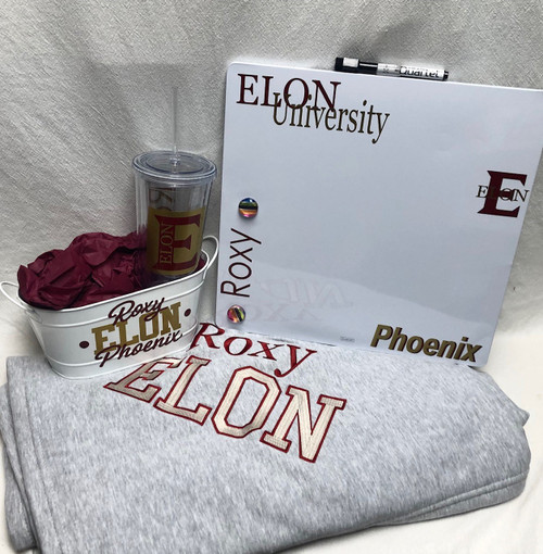 Dorm Deluxe with Sweatshirt Blanket- Add your school