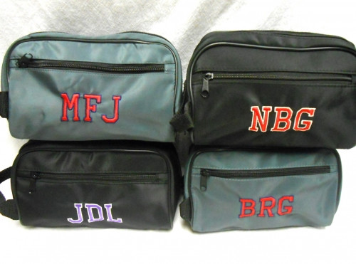 Collegiate Nylon Dopp Kit