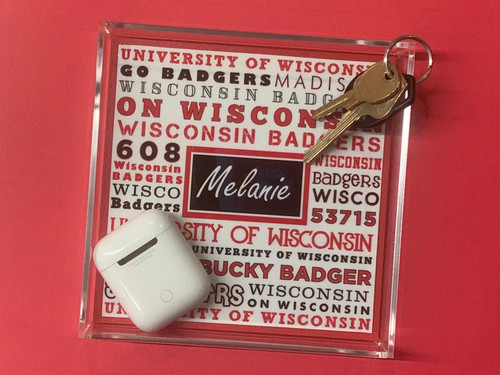 Acrylic Catchall- Add your school