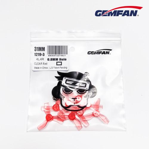 Gemfan 31mm Durable (3 blade) 0.8mm (8pcs)
