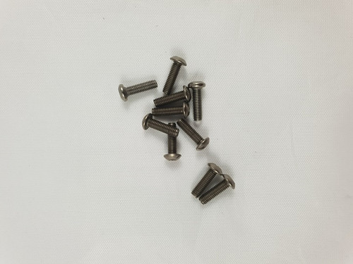 M3 x 10mm Titanium Socket Button screws (10pcs)