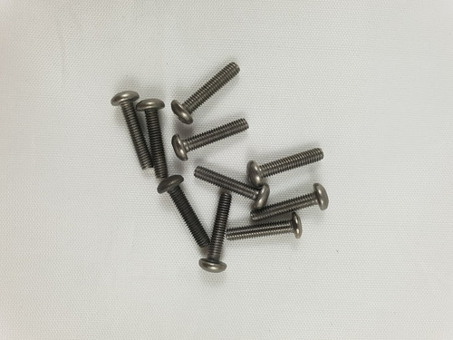M3 x 14mm Titanium Socket Button screws (10pcs)