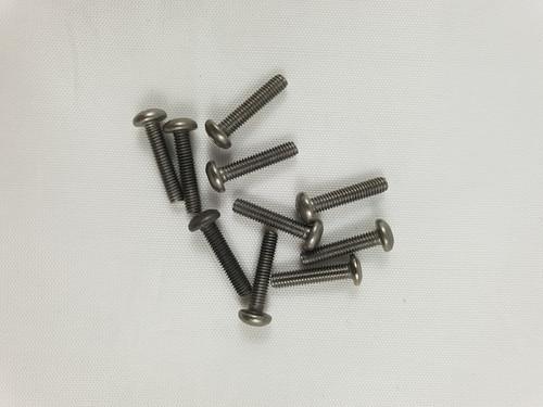 M3 x 14mm Titanium Socket Button screws (10pcs)
