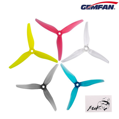 Gemfan 51466x3 Hurricane | Racing & Freestyle Durable Prop - 4 pcs. set