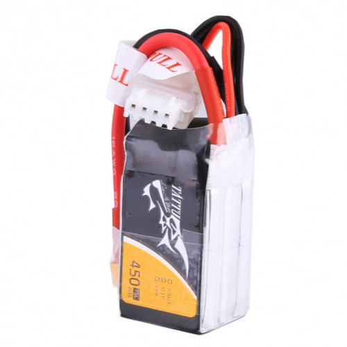 Tattu 3S 450mAh 75C | XT-30 FPV LiPo Battery 11.1 V