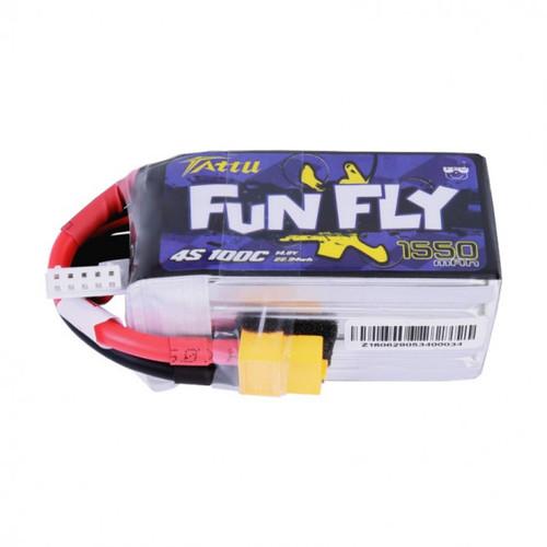 Tattu lipo Funfly 4S 1550mah 100C