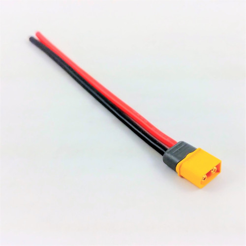 Cable XT60 male 12AWG 15cm (Amass)