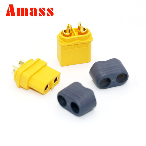 XT60 SET of Male and Female Connectors - Amass