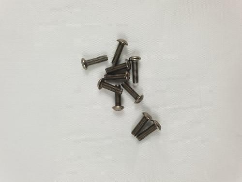 M3 x 12mm Titanium Socket Button screws (10pcs)