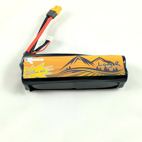 4S 6000mah 30A | 14.4V 4S2P Li-Ion Battery Pack