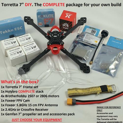 "Torretta 7"" 6mm  DIY KIT (4S/6S)"